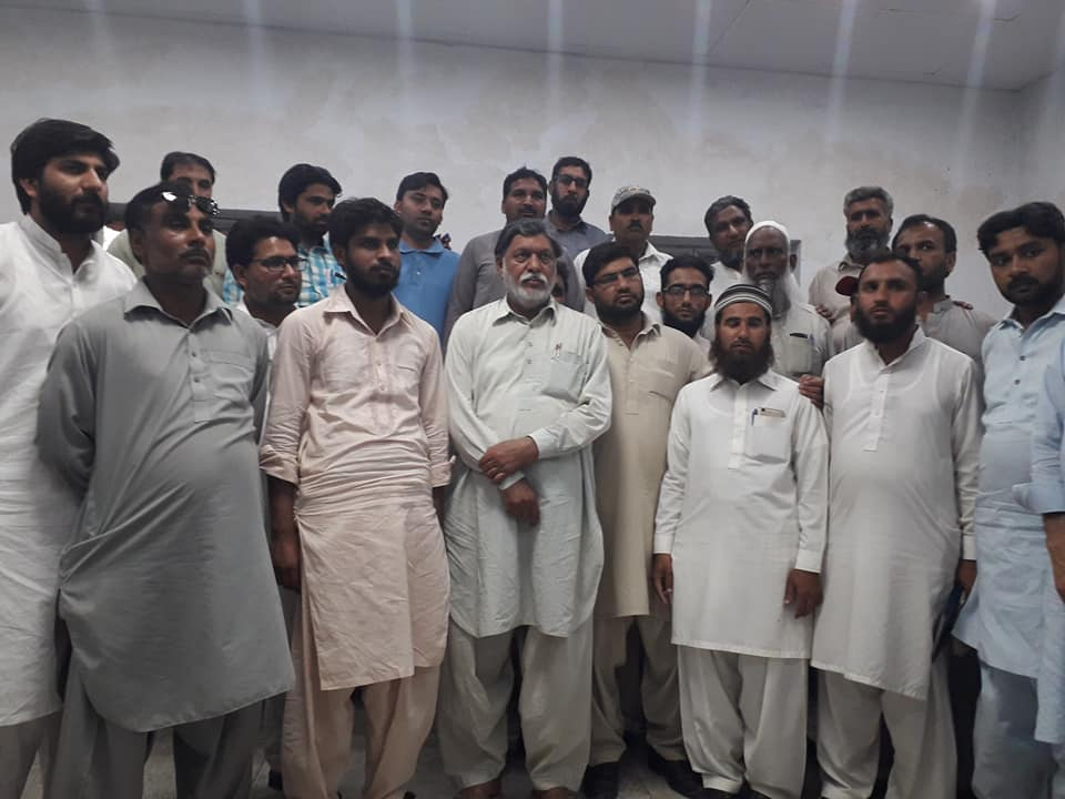 thq depalpur qualified dispencers protest
