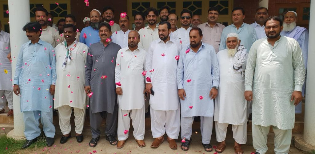 independence day ceremony in burj ilyas khan