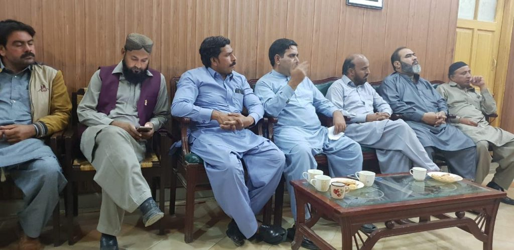 ac depalpur meeting with okara diary and ittehad press club