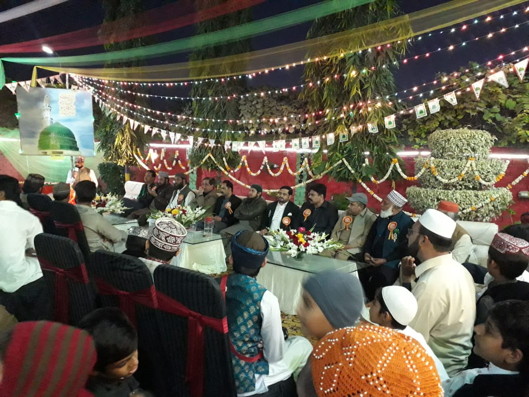 milaad relly in depalpur