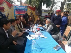 open forum helded in depalpur wapda office