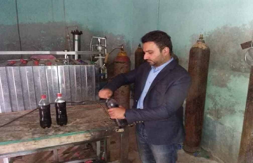 ac depalpur caught red handed fake cold drinks in haveli lakha