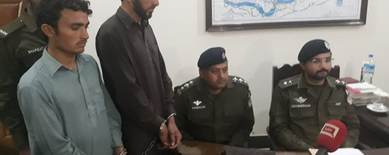 asp depalpur arrest father,s murderer