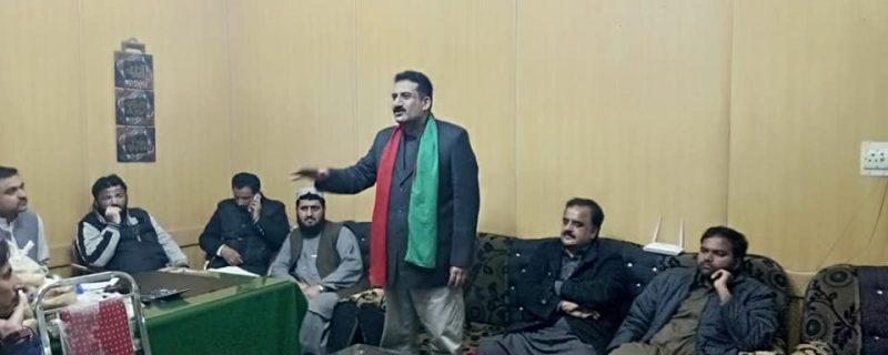 pi leader azhar mehmood okara