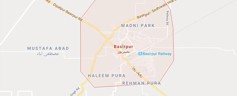 basir pur should make tehsil