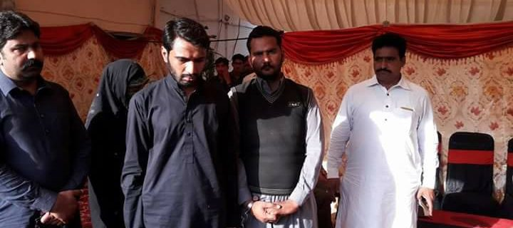 basir pur mai froad grup arrested