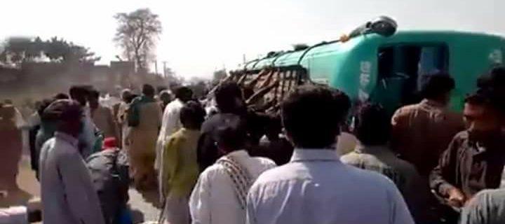 qasoor road accident