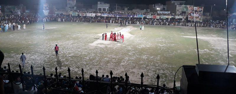 depalpur premier league first semi final
