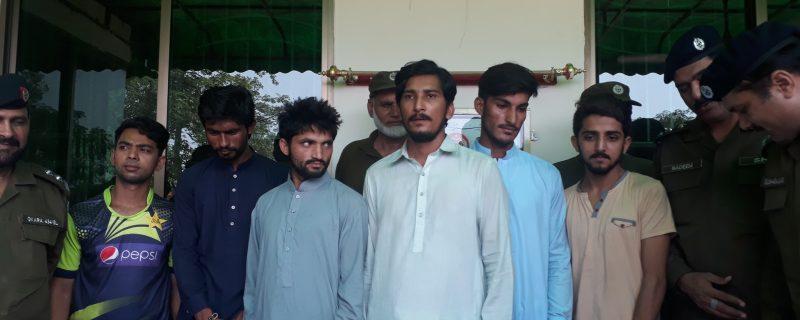 dangerous criminal gan arrested by depalpur police