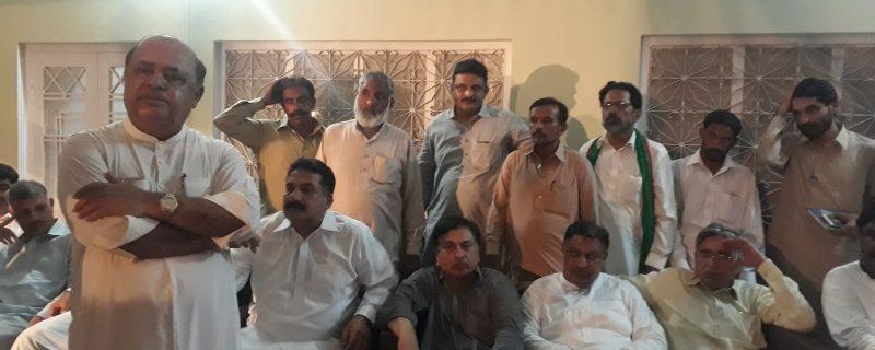 abbas shah supports gulzar sibtain shah