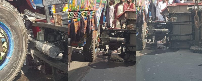 accident and sucide in okara 2 killed