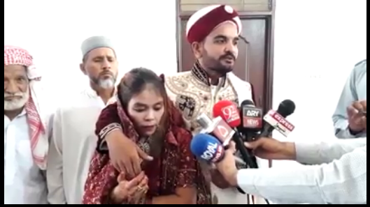 thilanad woman comes in pakistan and married