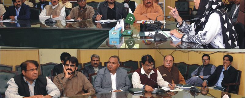dc okara chaired a meeting on polio campaign