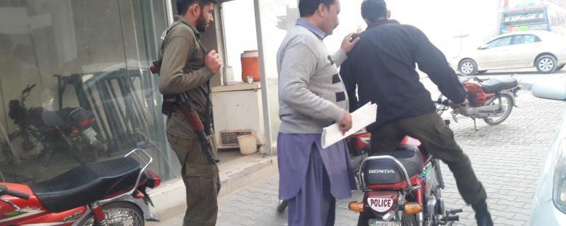FAKE majistrate arrested in depalpur