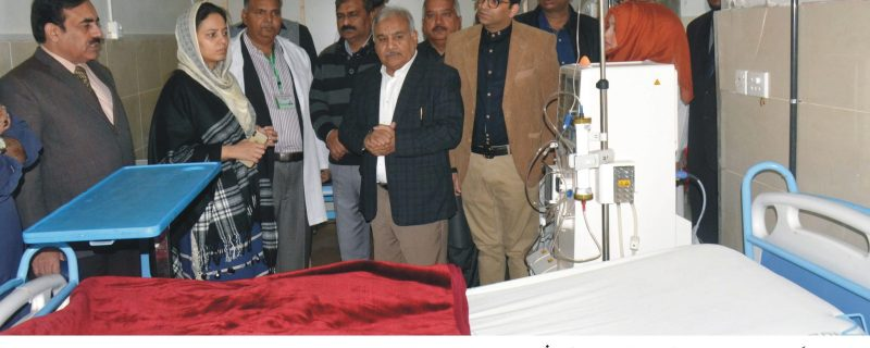 4 new kidney dialysis machines launched in DHQ okara