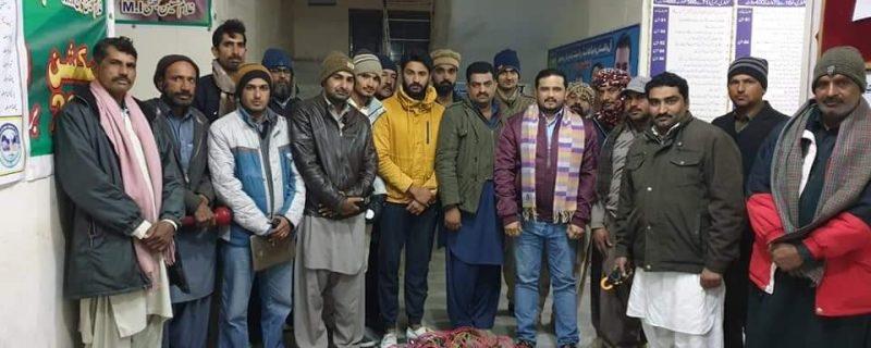 wapda depalpur SDO mian tariq bashir raid against thieves