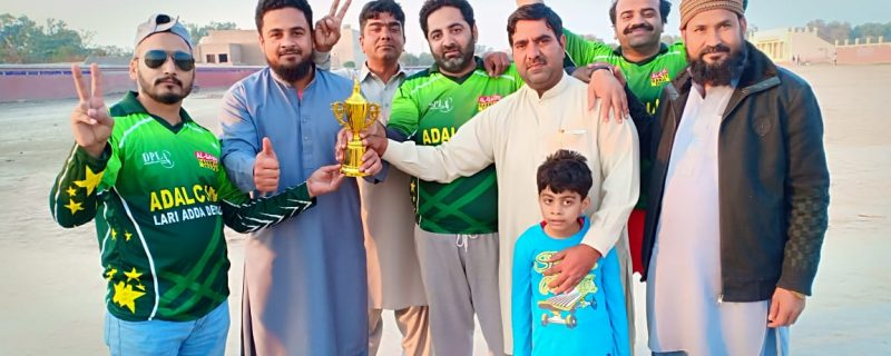 ittehad press club depalpur cricket match