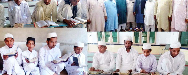 wafaq ul madaras visits riazul jannat depalpur