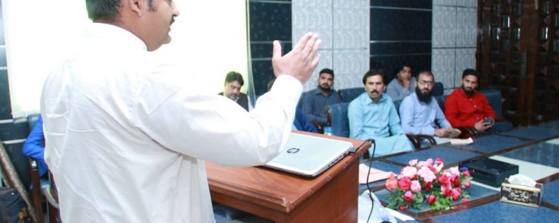 Dr amjad waheed deliver lecture in seminar