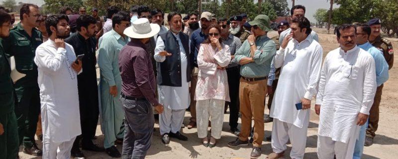 punjab housing minister mehmoodul rasheed visits renala