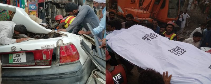 depalpur accident 2 killed 5 injured
