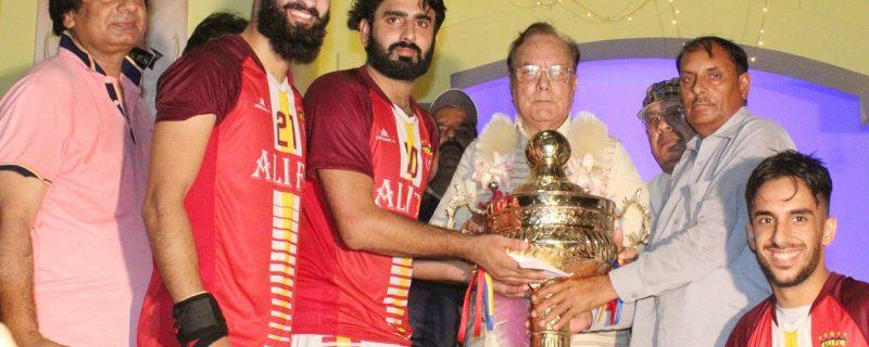 all punjab sardar ali kalas football tournament winner ali football club chak bawa