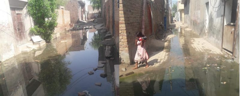 very bad situation of cleanless in depalpur