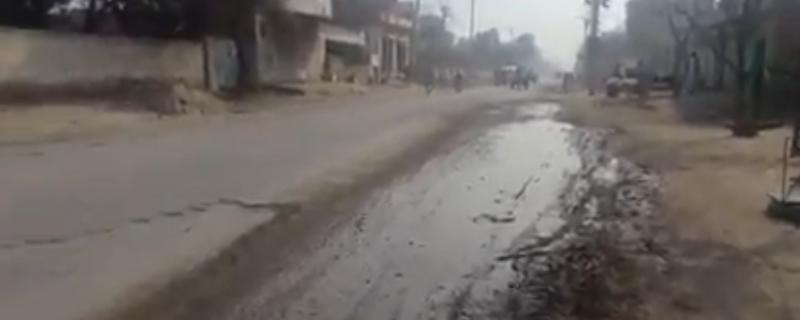 depalpur,basipur,ghalla mandi roads are damaged