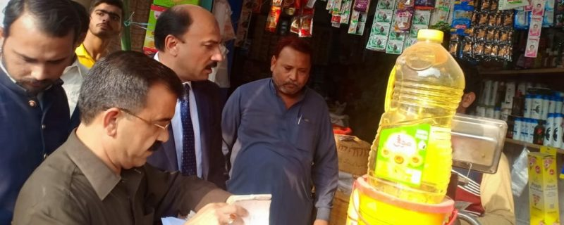 ac depalpur khalid abbas sial action about price control