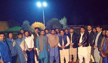 insaf socialmedia depalpur arrangr dinner in the honor of syed gulzar sibtain sha and ittehad press club