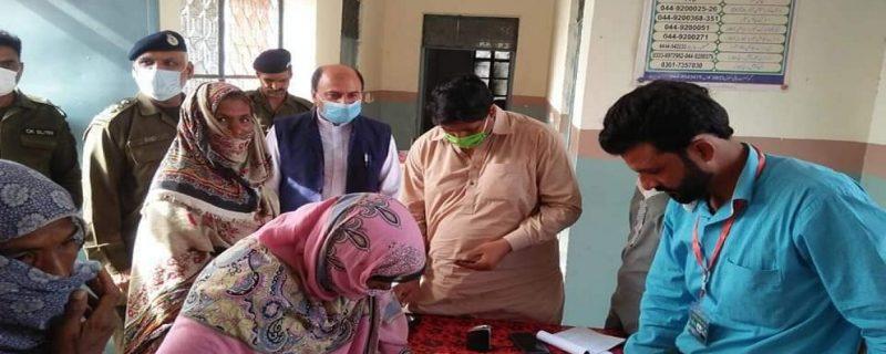 ehsas kafalat program in okara depalpur renala khurd,www.okaradiary.com