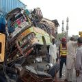 ڈیری خازی خان،عید پر گھر لوٹنے والے تیس افراد موت کی وادی میں چلے گئے
