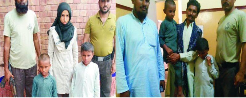 دیپالپور,پٹرولنگ پولیس نے دوگمشدہ سگے بھائی تلاش کرکے والدین کے حوالے کردئیے